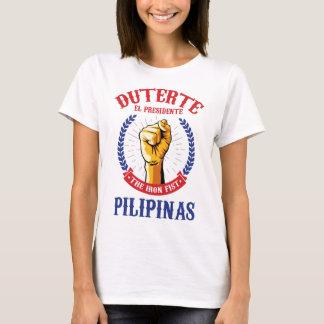 Camiseta Rodrigo Duterte para o presidente das Filipinas
