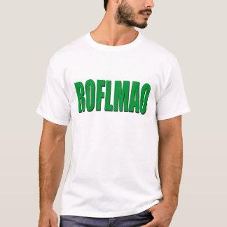 Camiseta ROFLMAO-verde