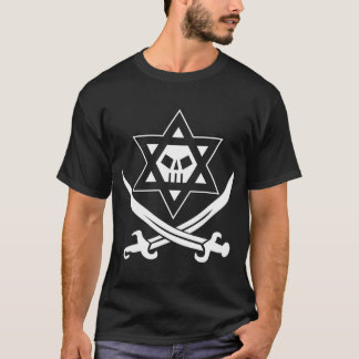 Camiseta Roger Kosher preto & branco