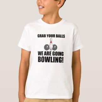 Camiseta Rolamento indo das bolas da garra