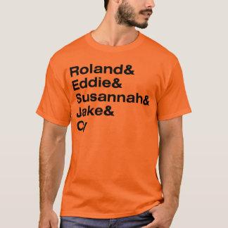 Camiseta Roland e o ka-Tet de 19
