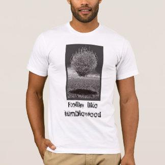 Camiseta Rollin gosta do amaranto