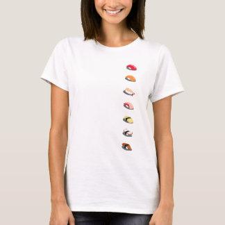 Camiseta Rolls do t-shirt do sushi