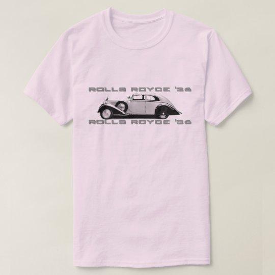Camiseta Rolls Royce 1936