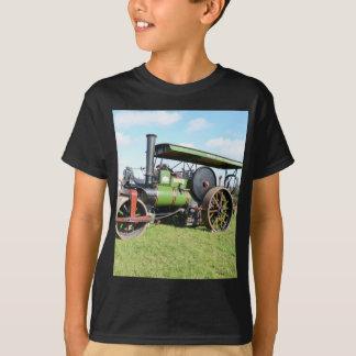 Camiseta Rolo do vapor do vintage