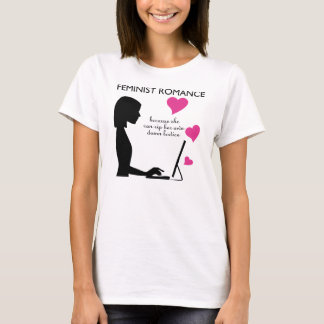Camiseta Romance feminista: pode rasgar seu próprio corpete
