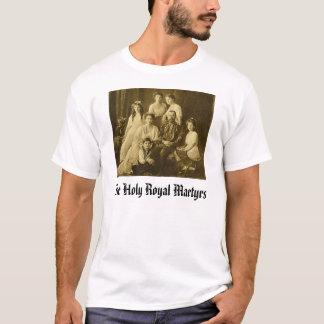 Camiseta Romanov, mártir reais santamente