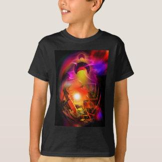 Camiseta Romantismo de vela - Calcular o tempo túneis