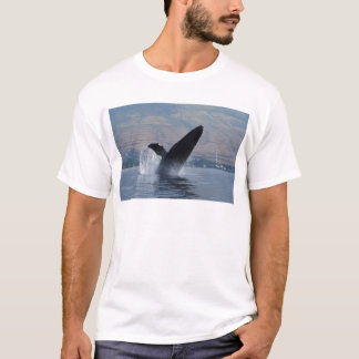 Camiseta rompimento da baleia do humback