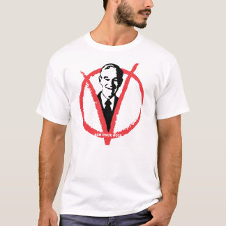 Camiseta Ron Paul 2012
