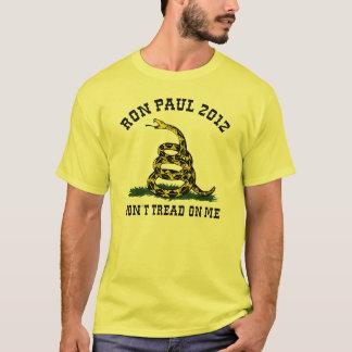 Camiseta Ron Paul não pisa em mim