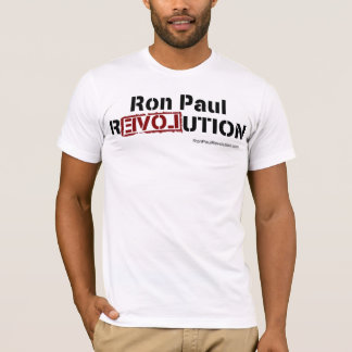 Camiseta Ron Paul T cabido revolução