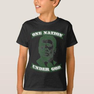 Camiseta Ronald Reagan uma nação sob o deus
