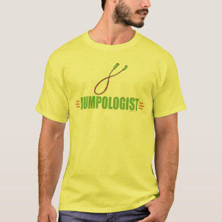 Camiseta Roping engraçado do salto