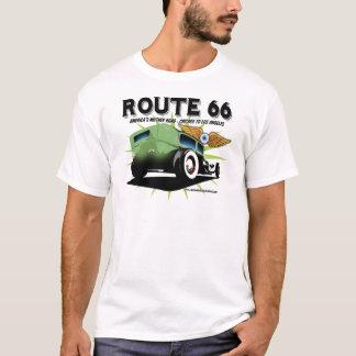 Camiseta Ros & relíquias da rota 66
