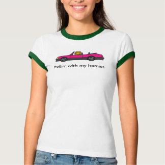 Camiseta rosa 900 turbo: trollin com meus homies