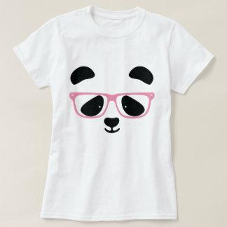 Camiseta Rosa bonito da panda