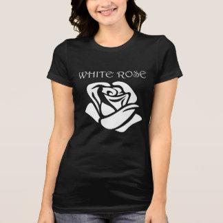 Camiseta Rosa branco