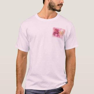 Camiseta Rosa da cerca 3 do marmelo da oração da serenidade