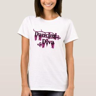 Camiseta Rosa da diva da dança