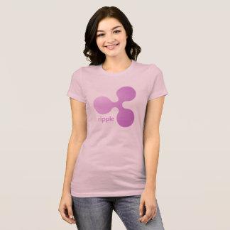 Camiseta Rosa da ondinha
