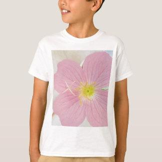 Camiseta rosa da prímula