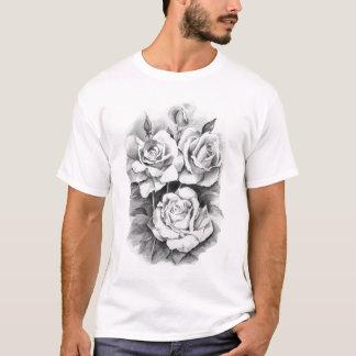 Camiseta rosa-desenho