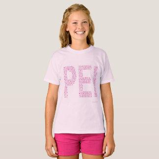 Camiseta Rosa do amor PEI