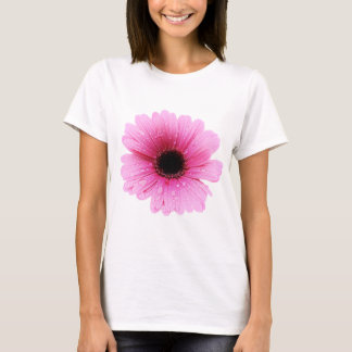 Camiseta Rosa do Gerbera - margarida