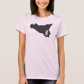 Camiseta Rosa e preto de Sicilia