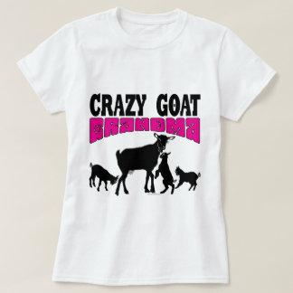 Camiseta Rosa louco GYG da avó da cabra da CABRA |