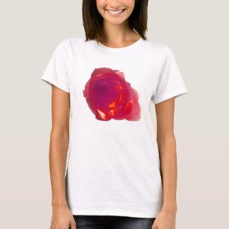 Camiseta Rosa vermelha