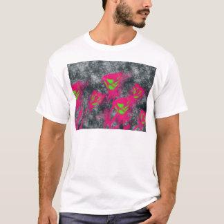 Camiseta rosas bonitos