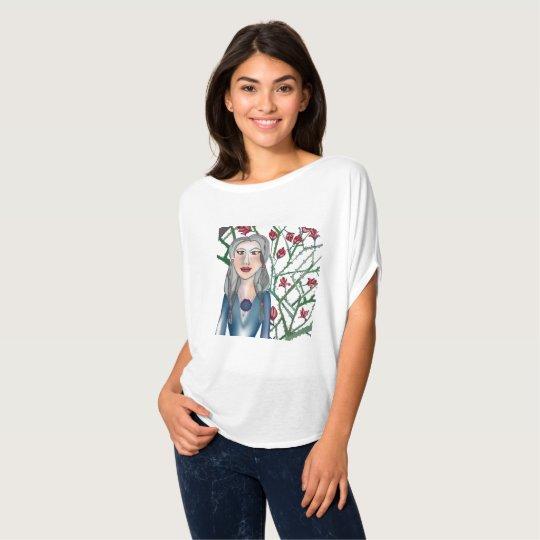 Camiseta Rosas com espinho