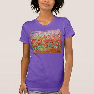 Camiseta Rosas de Giverny France