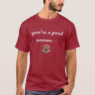 Camiseta Rosas inoperantes vermelhos