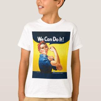 """Camiseta Rosie o rebitador """"nós podemos fazê-lo! """""""