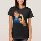 Camiseta Rosie o t-shirt do feminismo do vintage do
