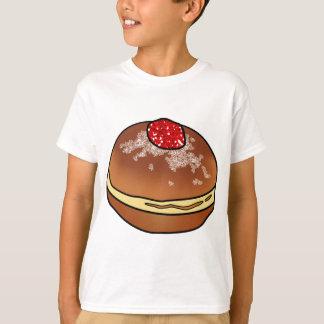 Camiseta Rosquinha da geléia de Hanukkah Sufganiyah
