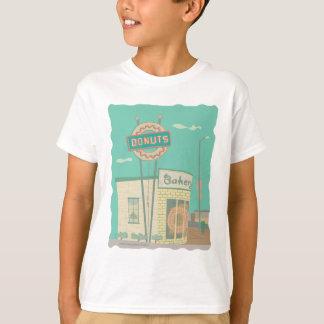 Camiseta Rosquinha Loja-das memórias da rota 66
