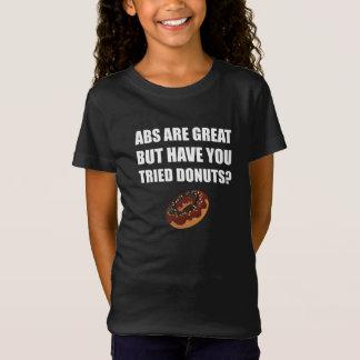 Camiseta Rosquinhas experimentadas do excelente do ABS