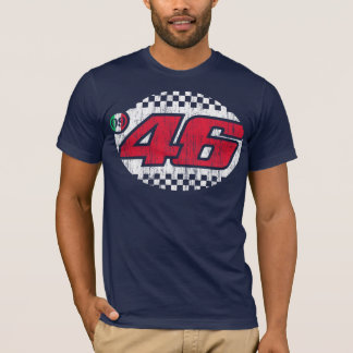 Camiseta Rossi '09 (vintage vermelho/branco)