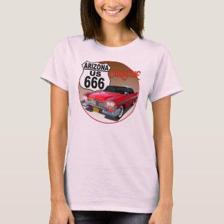 Camiseta Rota 666 dos E.U. da arizona - Christine