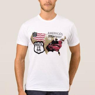 Camiseta Rota 66 do vintage