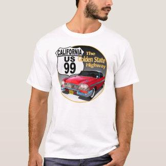 Camiseta Rota 99 de Califórnia U S - o Golden State