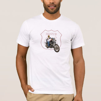 Camiseta Rota clássica 66 da motocicleta do Virago de