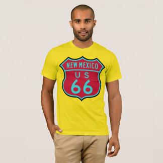 Camiseta Rota histórica 66 dos E.U.: New mexico