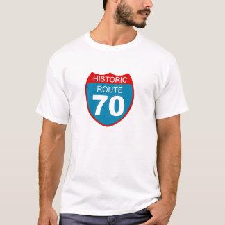 Camiseta Rota histórica 70