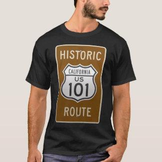 Camiseta Rota histórica E.U. 101 de Califórnia