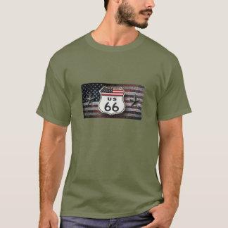 Camiseta Rota rústica 66